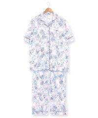 bumpy半袖パジャマシャツセットアップ