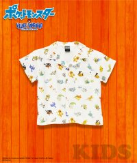 【KIDS】ポケモン柄シャツ旅立ちの3匹