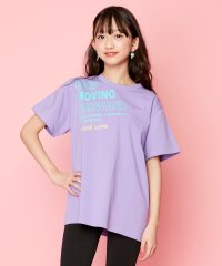 防蚊斜めロゴBIGTシャツ