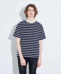 【BARBARIAN】8オンス シャープピッチボーダー 半袖Tシャツ