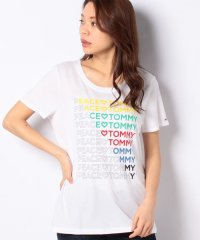 W PEACE LOVE TOMMY T CLASSIC WHITE