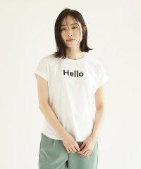 """[RADIATE] 【手洗い可】""""Hello""""ハクプリントT"""