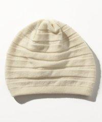 カシミヤニット帽