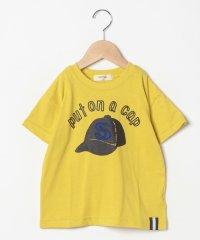 キャッププリントTシャツ