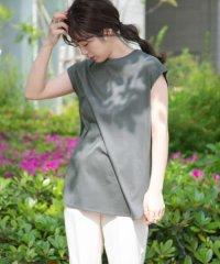 バックロングフレンチTシャツ