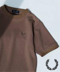 《予約》【FRED PERRY / フレッド ペリー】別注 SOLOTEX カルゼニットライクTシャツ