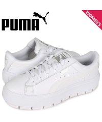 プーマ PUMA バスケット プラットフォーム スニーカー レディース 厚底 BASKET PLATFORM TRACE LITE WNS ホワイト 白 373