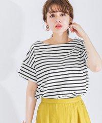 【予約】ワイドボーダーTシャツ