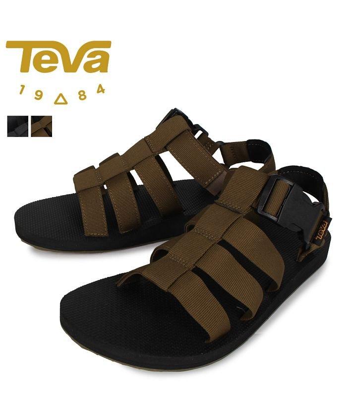 (Teva/テバ)Teva テバ サンダル スポーツサンダル オリジナル ドラード メンズ ORIGINAL DORADO ブラック オリーブ 黒 1110640'/メンズ オリーブ