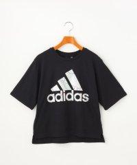 【adidas/アディダス】 メタリックロゴTシャツ