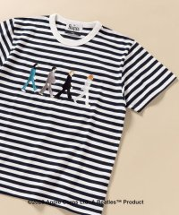 SC: THE BEATLES エンブロイダリー ボーダー Tシャツ