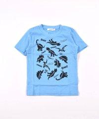 天竺恐竜プリントTシャツ