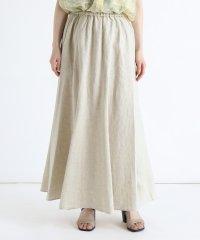 [RADIATE] リネンロングスカート