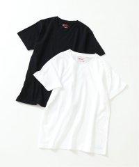 【HANES/ヘインズ】2P JAPAN Fit クルーネックTシャツ◆