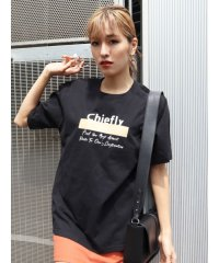 パッチプリントTシャツ