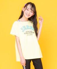 【ニコ☆プチ6月号掲載】肩テープロゴTシャツ