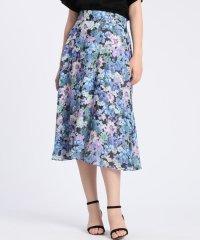 《Maglie par ef-de》水彩フラワースカート《Viscotecs》