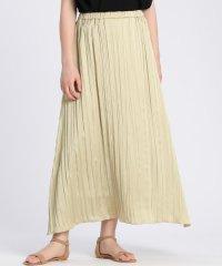 《Maglie par ef-de》サテンプリーツスカート