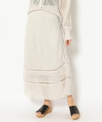 Maglia Plus/マリアプラス/コットンメッシュ スカート