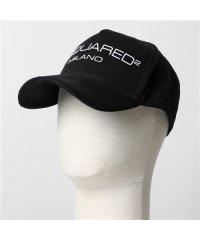 【DSQUARED2(ディースクエアード)】BCM0267 05C00001 M063 コットン ベースボールキャップ 帽子 メンズ