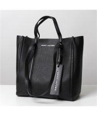 【MARC JACOBS(マークジェイコブス)】M0015656 The Tag Tote27 ザ タグ レザー 2way トートバッグ 001/BLACK 鞄