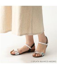【PLAKTON(プラクトン)】575725 カラー7色 コンフォートサンダル アンクルストラップ フラットサンダル 靴 レディース