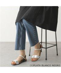 【PLAKTON(プラクトン)】645725 カラー3色 コンフォートサンダル アンクルストラップ フラットサンダル 靴 レディース