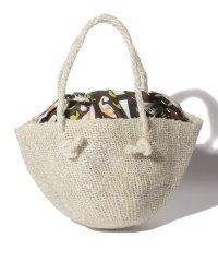 カカトゥ kakatoo / あずま袋付きサイザルかごバッグ