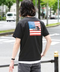 THE NORTH FACE Short-Sleeve National Flag T-shirts
