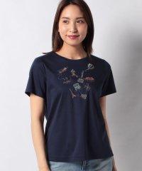 刺繍半袖Tシャツ