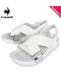 ルコック スポルティフ le coq sportif LA ジュアン クロスベルト サンダル スポーツサンダル レディース LA JUAN XB ホワイト 白