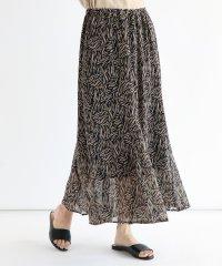 [RADIATE] ゼブラ風プリント8枚ハギスカート