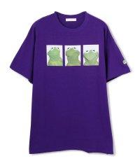 LittleSunnyBite/リトルサニーバイト/The Muppets x little sunny bite Kermit Big tee