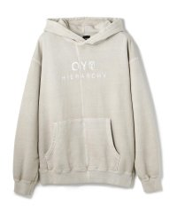 OY/オーワイ/CUTTING PIGMENT HOODIE/パーカー