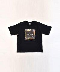 40/2天竺ボタニカルプリントTシャツ
