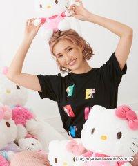 CYBERJAPAN DANCERS(サイバージャパンダンサーズ) KANAデザイン【HELLO KITTY】Tシャツ