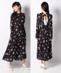 INSCRIRE:FLOWER PRINT DRESS