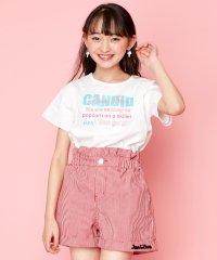 【ニコ☆プチ6月号掲載】防蚊カラーステッチロゴTシャツ