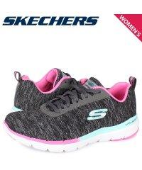 スケッチャーズ SKECHERS フレックス アピール スニーカー レディース FLEX APPEAL 3.0 ブラック 黒 149008-BKMT'