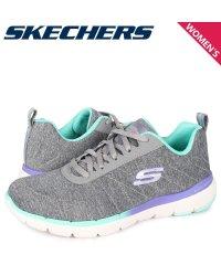 スケッチャーズ SKECHERS フレックス アピール スニーカー レディース FLEX APPEAL 3.0 グレー 149008-GYMT'