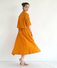 【セットアップ対応商品】CURRENTAGE Long Flare Skirt