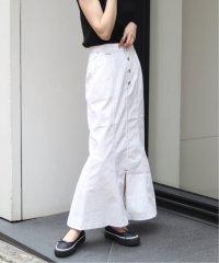 JW フロントボタンマーメイドスカート