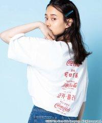 COCA-COLA バックプリントTシャツ