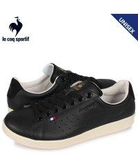 ルコック スポルティフ le coq sportif LA ローラン スニーカー メンズ レディース LA ROLAND LE+2 ブラック 黒 QL1NJC0