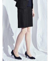 ホトフレッシュ/HOTOFRESH セットアップ セミタイトスカート 紺
