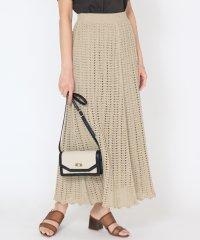 Bouchon(ブション) クロシェ編みフレアスカート