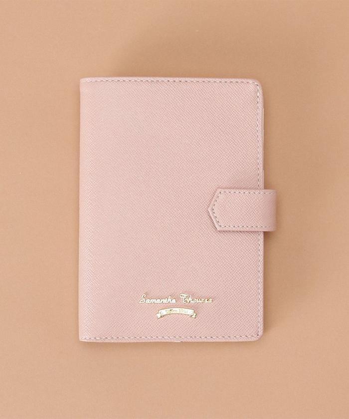 (Samantha Thavasa/サマンサタバサ)シンプルデザイン パスポートケース/レディース ピンク