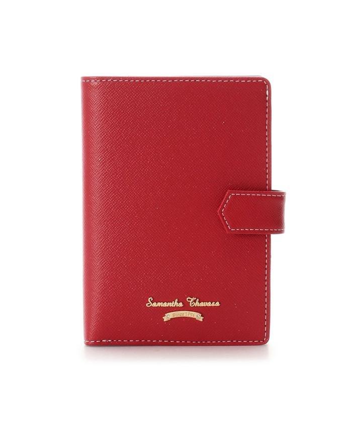 (Samantha Thavasa/サマンサタバサ)シンプルデザイン パスポートケース/レディース レッド
