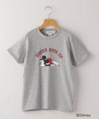 SHIPS KIDS:【LOVALOT】ミッキーマウス グレー TEE(140~150cm)