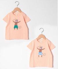 【lagom】リバーシブルスパンコールTシャツ